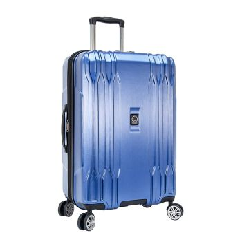 Delsey Eclipse Lite 24'' Expandable Spinner Trolley - Blue