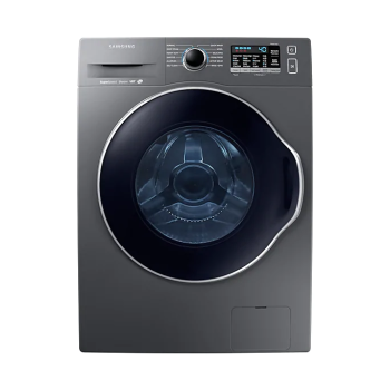"""Samsung WW6800 2.6 cu. ft. 24"""" Front Load Washer with Super Speed"""