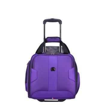 Delsey Volume Max 15'' 2-Wheel Under-Seater - Purple