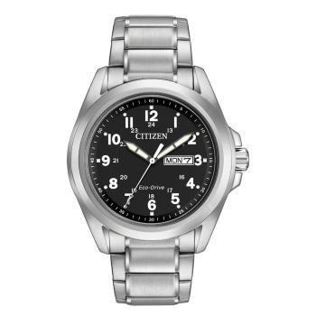 Citizen Men's Eco-Drive Chandler Stainless Steel Watch