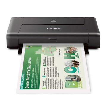 Canon Pixma iP110 Wireless Compact Mobile Printer with Battery