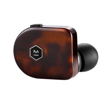 Master & Dynamic MW07 True Wireless Earbud - Tortoise Shell Acetate