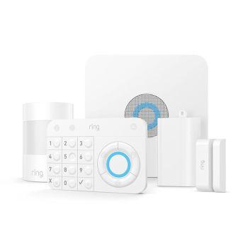Ring Alarm Wireless 5-Piece Security Kit - White