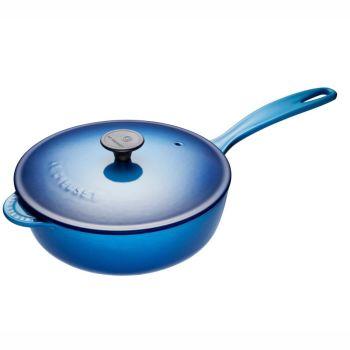 Le Creuset® 2L Saucier Pan with Lid - Blueberry