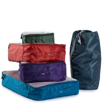LUG® Cargo 5-Piece Packing Set - Ocean Blue
