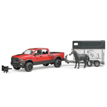 Bruder® Ram 2500 Power Wagon with Horse Trailer and Horse