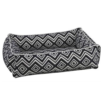 Bowsers Urban Lounger Pet Bed - Medium - Azure