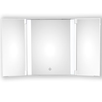 Conair® True Glow™ 1X Trifold LED Cosmetic Mirror