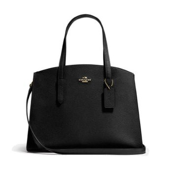 Coach Charlie Carryall - Black/Light Gold