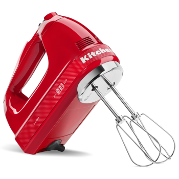 KitchenAid® 100 Year Limited Edition Queen of Hearts 7-Speed Hand Mixer - Passion Red