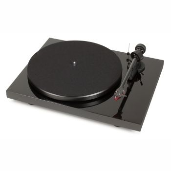 Pro-Ject Turntable Debut Carbon DC/2M Red - Piano Black