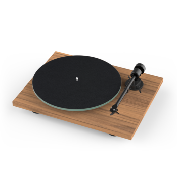 Pro-ject Plug and Play Turntable With Bluetooth Transmitter - Walnut Finish