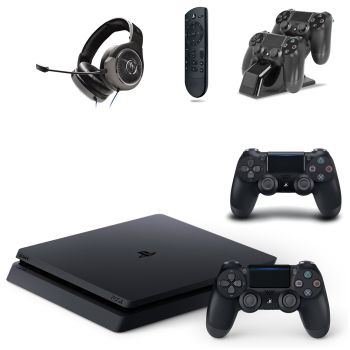 Playstation® 4 1TB Slim Console with Accessory Bundle