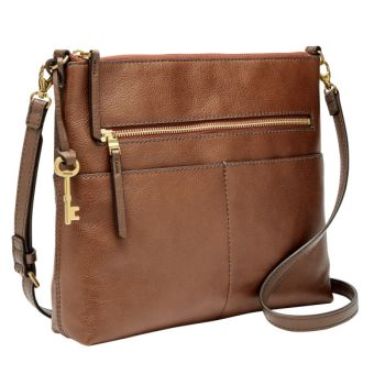 Fossil Fiona Crossbody - Brown