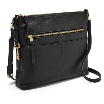 Fossil Fiona Large Crossbody Bag - Black