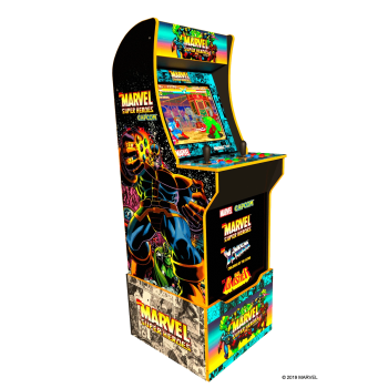 Arcade1Up™ Marvel Super Heroes Arcade Cabinet Special Edition with Custom Riser Included