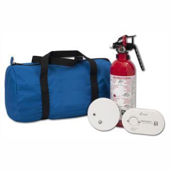 Justin Case®  Kidde® Starter Home Safety Kit (Fire Extinguisher & Carbon Monoxide Alarm + Smoke Alarm)