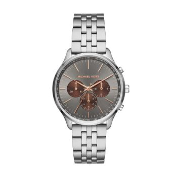 Michael Kors Sutter Silver-Tone Watch