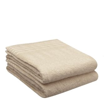 LuxeportSPA 2-Piece Bamboo Bath Sheet Set  - Linen