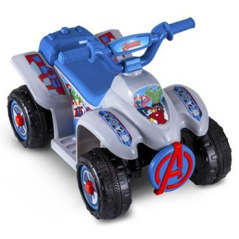 Kid Trax® Marvel Avengers 6 Volt Toddler Quad