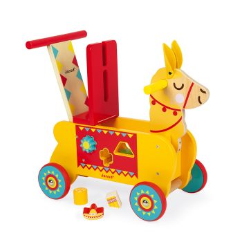 Janod Llama Ride-On (Wood)