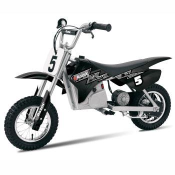 Razor™ MX350 Dirt Rocket Battery-Powered Electric Dirt Bike - Black