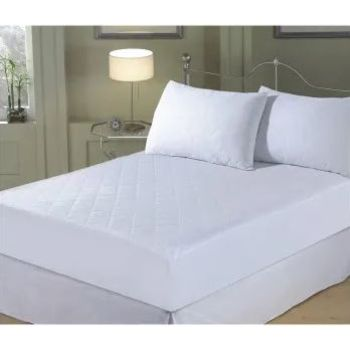 Luxeport Pure Certified Asthma and Allergy Friendly™ 3-Piece Silk Mattress Pad and Pillow Protector Set - Queen