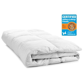 LuxeportPURE Certified Asthma and Allergy Friendly™ 100% Silk Duvet - King