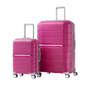 Samsonite Freeform 2-Piece Luggage Set - Limited Edition Pink - Travelling for a Cure