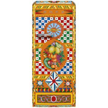 SMEG Dolce & Gabbana Sicily is my Love Divina Cucina Refrigerator