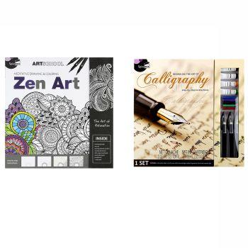 SpiceBox Zen Art and Art of Calligraphy Bundle