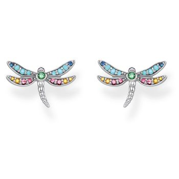 Thomas Sabo Sterling Silver Dragonfly Ear Studs