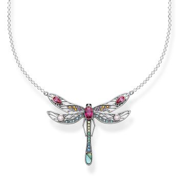 Thomas Sabo Sterling Silver Large Dragonfly Necklace