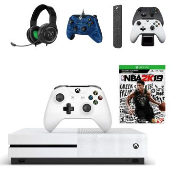 Xbox One S 1TB NBA 2K19 and Accessory Bundle