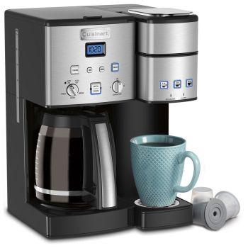Cuisinart® Coffee Center(TM) 12-Cup Coffeemaker & Single Serve Brewer