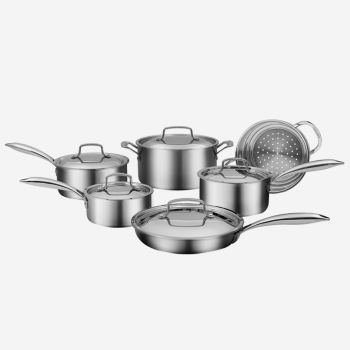 Cuisinart® 11-Piece Professional Series Five-Ply Cookware Set
