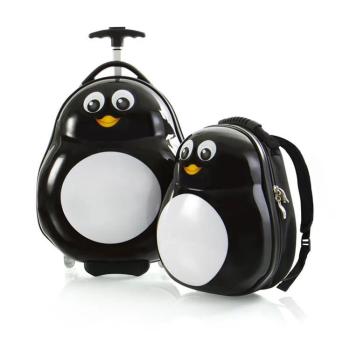 HEYS® Travel Tots Lightweight 2-Piece Kids Luggage and Backpack Set - Penguin