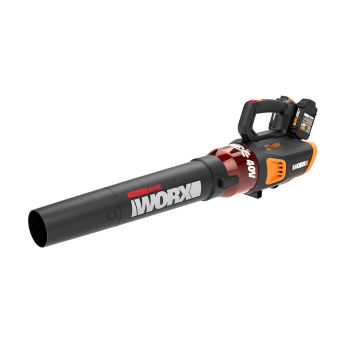 Worx 40V Power Share Turbine Cordless Leaf Blower with Brushless Motor (2x20V)