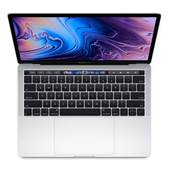 """Apple MacBook Pro 13"""" Laptop (1.4GHz Quad-Core Processor with Turbo Boost up to 3.9GHz /128 GB Storage) - Silver - French"""