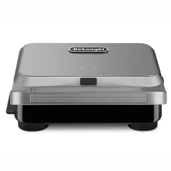 De'Longhi Livenza Compact All Day Grill 3-in-1 Waffle, Grill & Griddle Plates