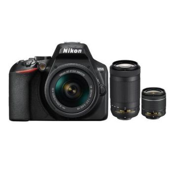 Nikon D3500 Dual Lens Hard Bundle (D3500 Body + AF-P 18-55VR + AF-P 70-300VR)