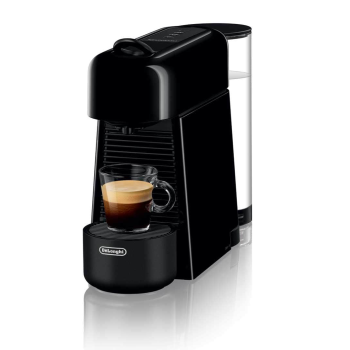 Nespresso Essenza Plus Espresso Machine by De'Longhi - Piano Black