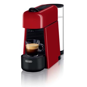 Nespresso Essenza Plus Espresso Machine by De'Longhi - Shiny Red