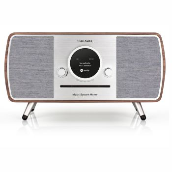 Tivoli Music System Home All-In-One Smart System - Walnut