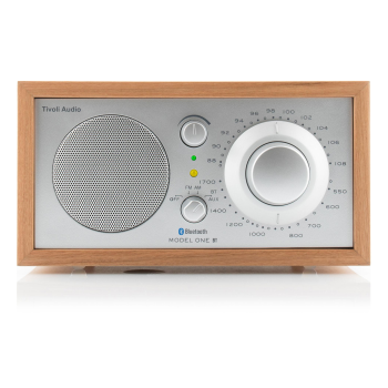 Tivoli The Model One BT with Bluetooth Radio - Cherry/Silver