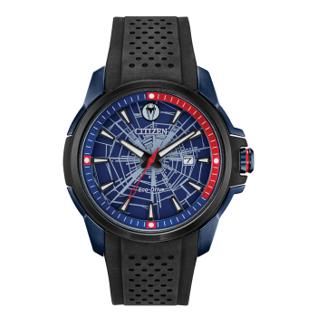 Citizen Marvel Spider Man Eco-Drive Blue Dial Watch