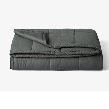 """St.Teil Weighted Blanket with 100% Cotton Removable Cover - 60"""" x 80"""", 15 lbs"""