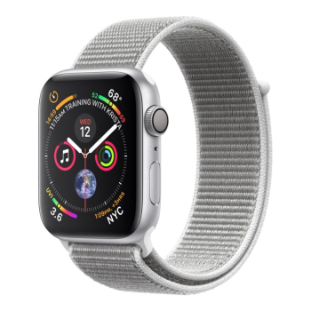 Apple Watch Series 4 -Silver Aluminum Case with Seashell Sport Loop - 40mm - GPS