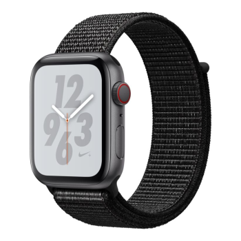 Apple Watch Nike+ Series 4 - Space Grey Aluminum Case with Black Sport Loop - 44mm - GPS + Cellular
