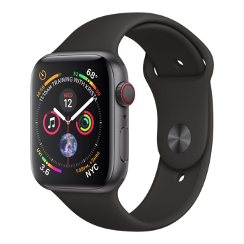 Apple Watch Series 4 - Space Grey Aluminum Case with Black Sport Loop - 40mm - GPS + Cellular